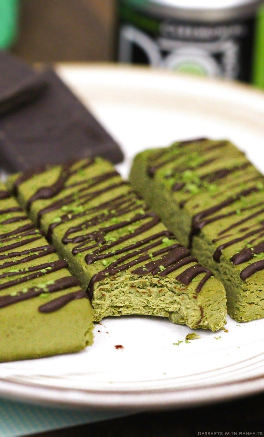 Healthy Matcha Desserts