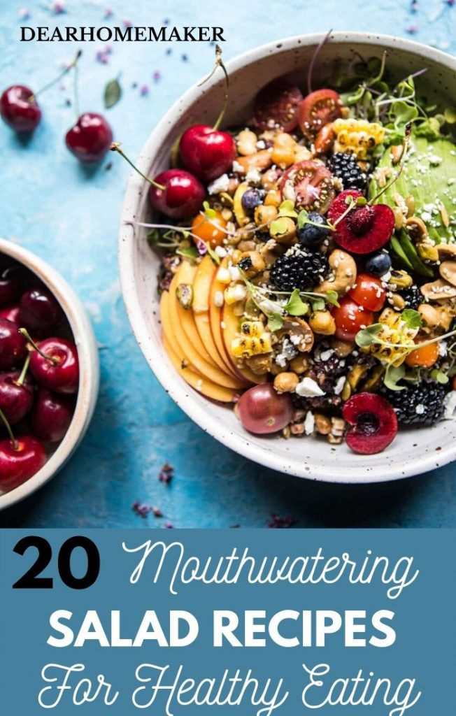 20 Salads recipes for healthy eating