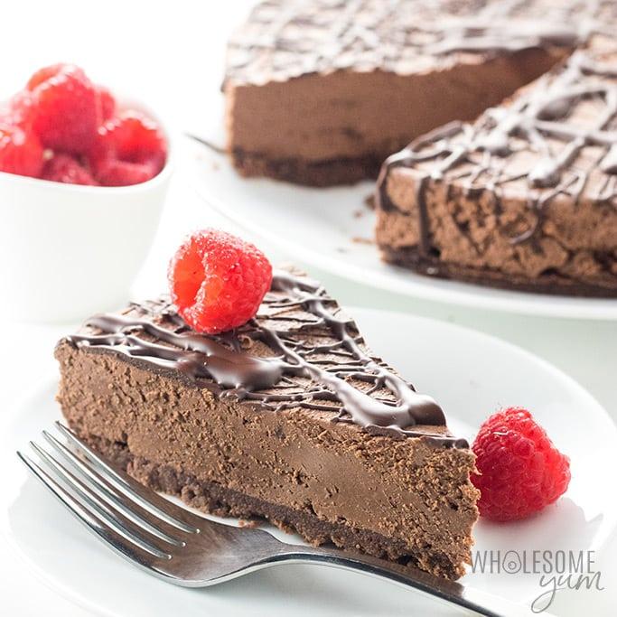chocolate-cheesecake