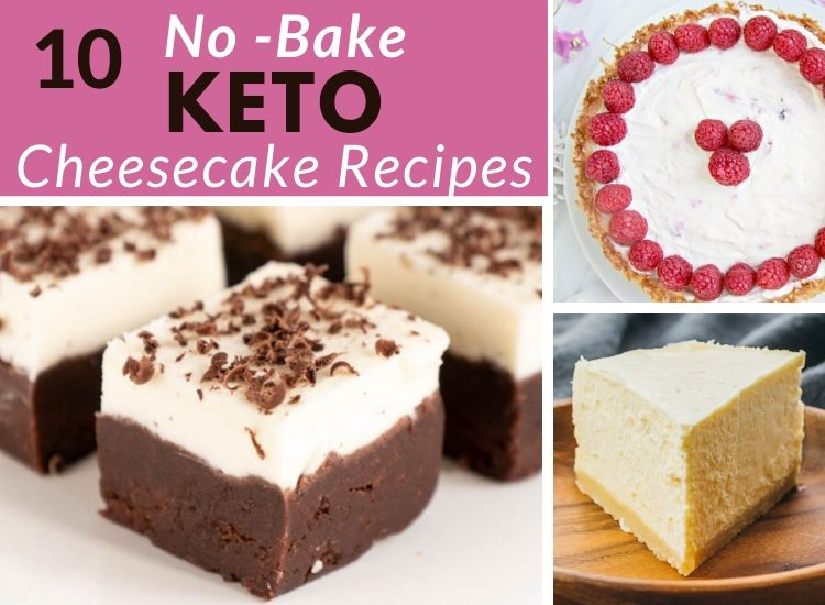 10 No-bake sugar-free Keto Cheesecake recipes