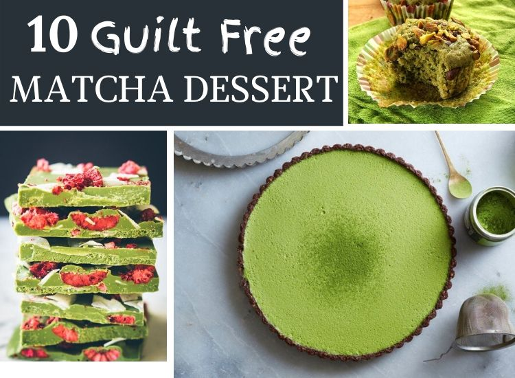 10 Healthy matcha desserts