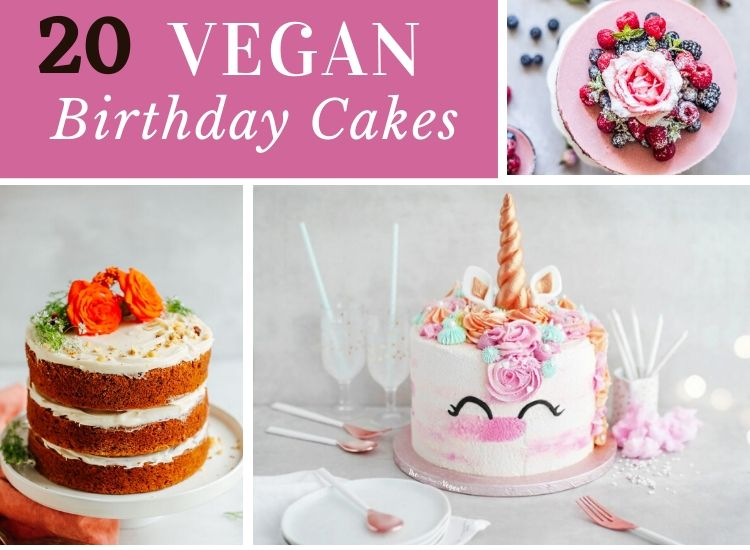 20 Vegan Birthday cake Recipes