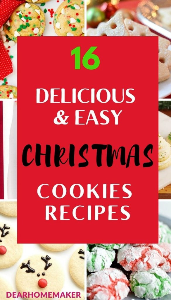 16 Christmas Cookie Recipes