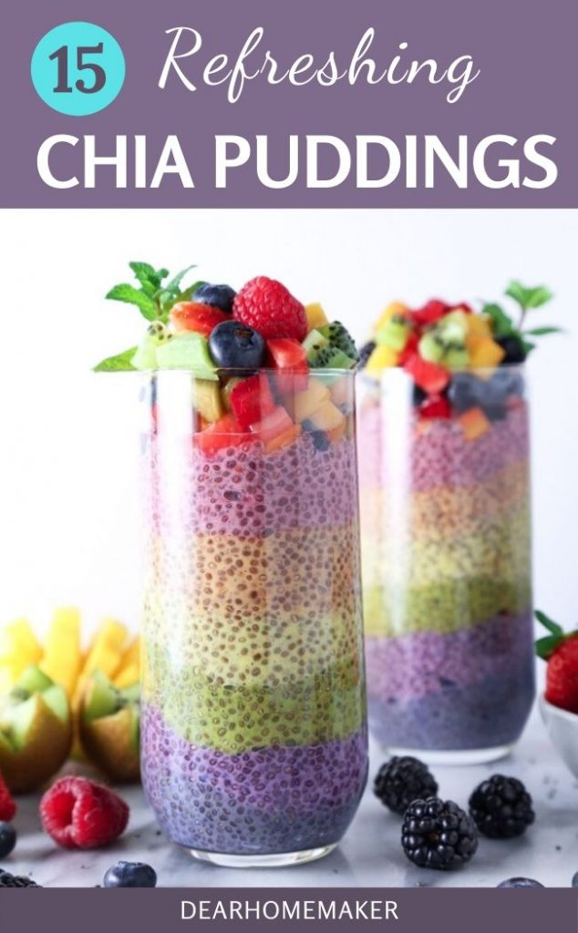 15 Refreshing and healthy Chia Puddings recipes