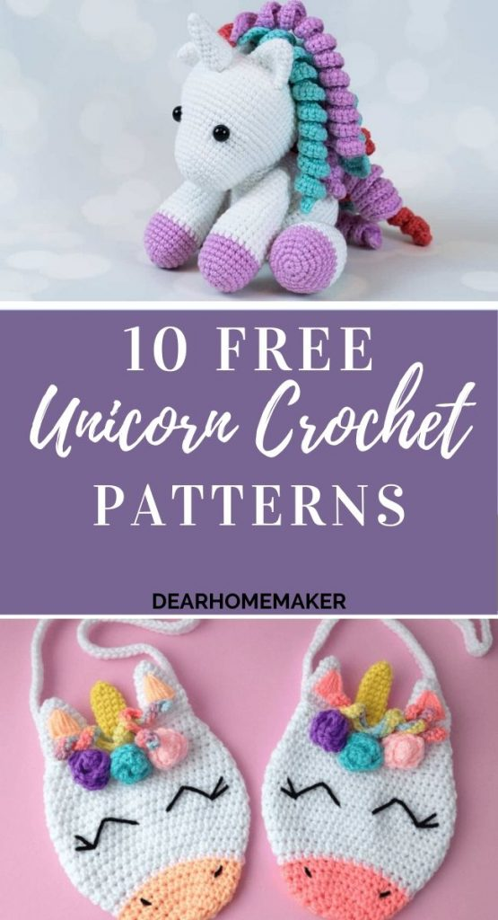 10 Free Unicorn Crochet Patterns