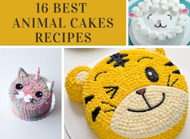 16 Mouthwatering Animal Cakes