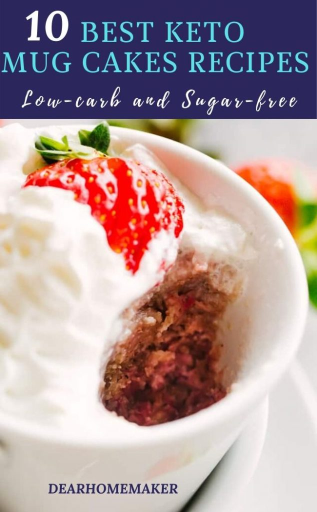 10 Low Carb Keto Mugcake Recipes