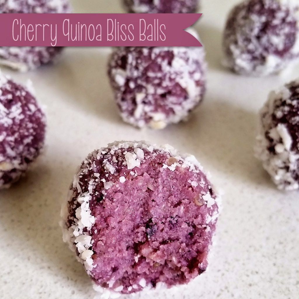 Cherry Quinoa Balls
