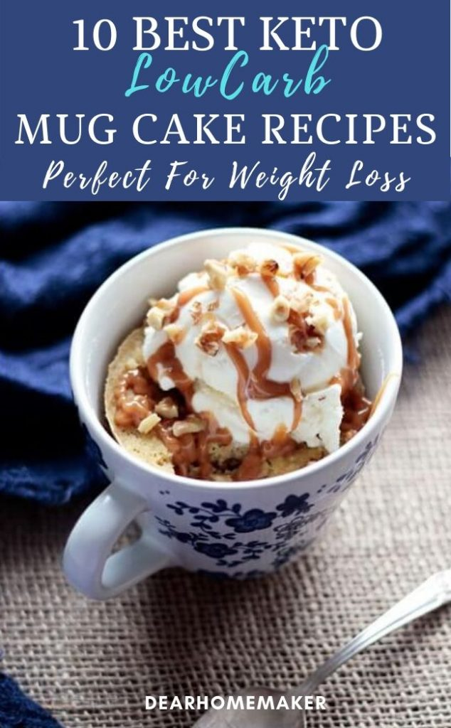 10 Best Lowcarb Keto MugCake Recipes