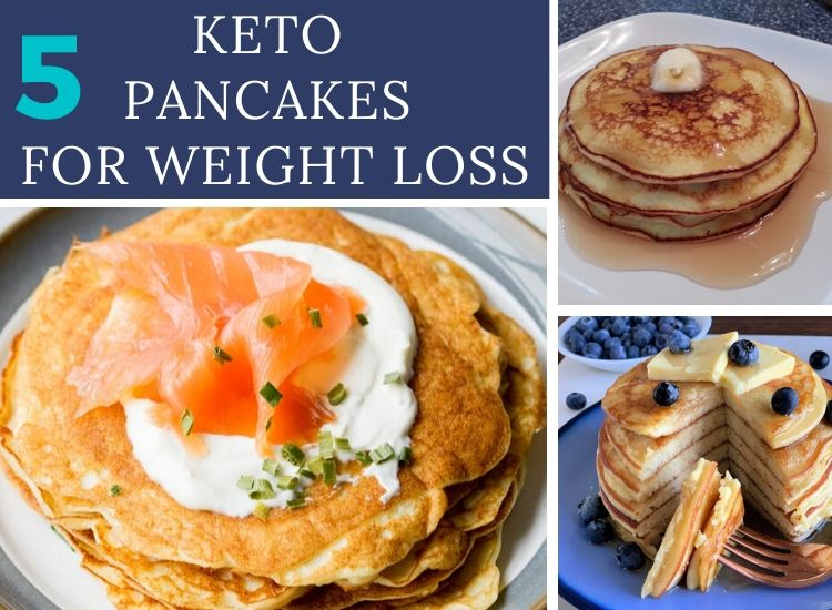 5 keto pancakes recipes
