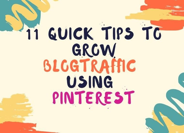 use Pinterest to grow blog traffic