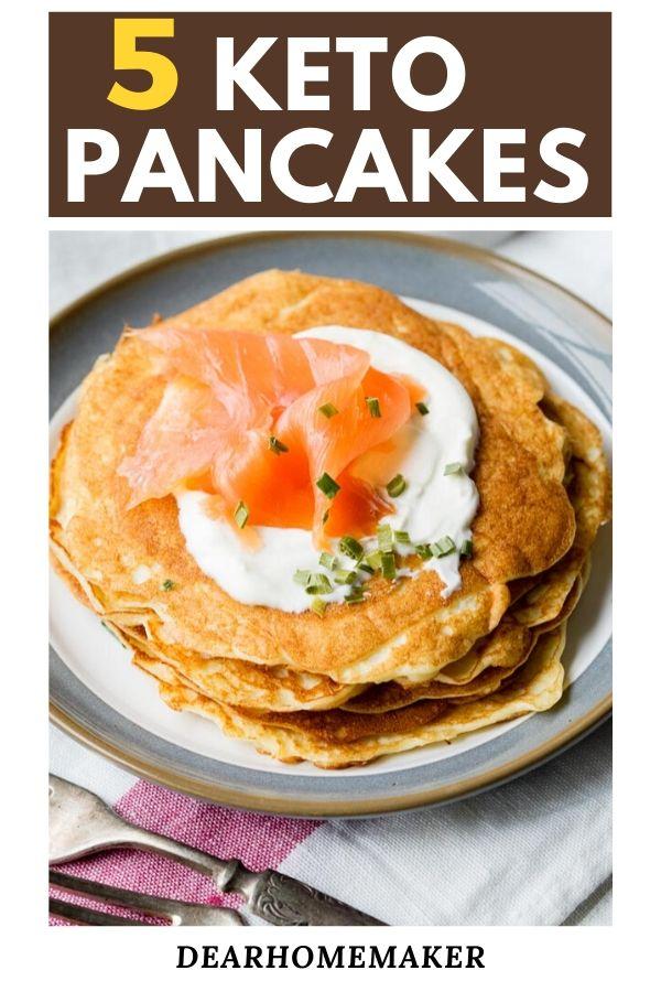 5 best Keto pancakes recipes