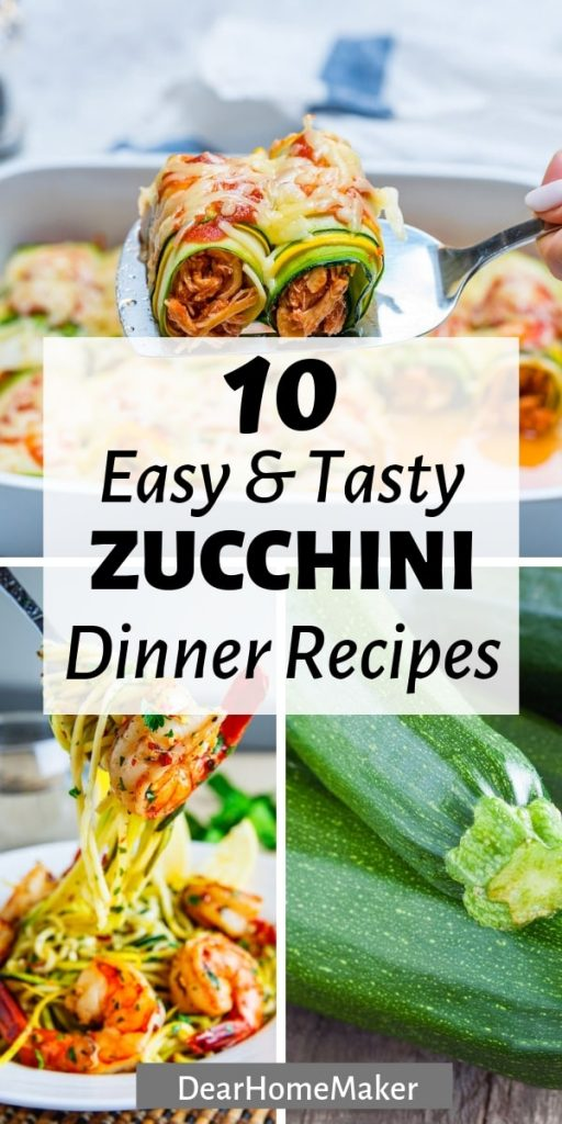 10 zucchini dinner recipes