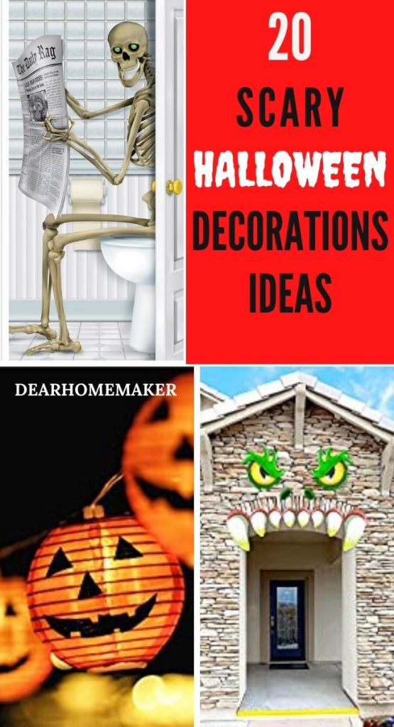 20 Halloween Decorations Ideas