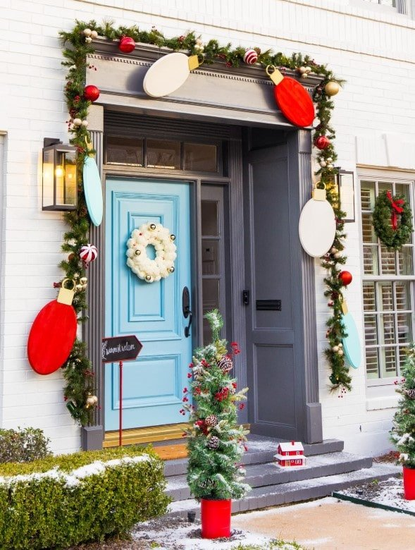 Christmas Decoration Ideas-porch