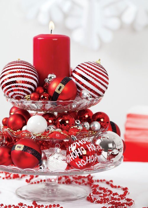 Homemade-Christmas-Centerpieces-Ornament-Table-Centerpieces