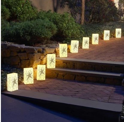 Outside light decor