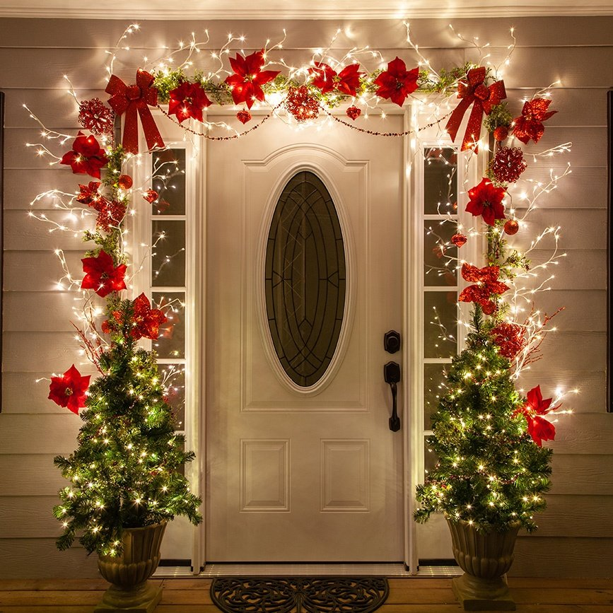 Christmas Decoration ideas for door