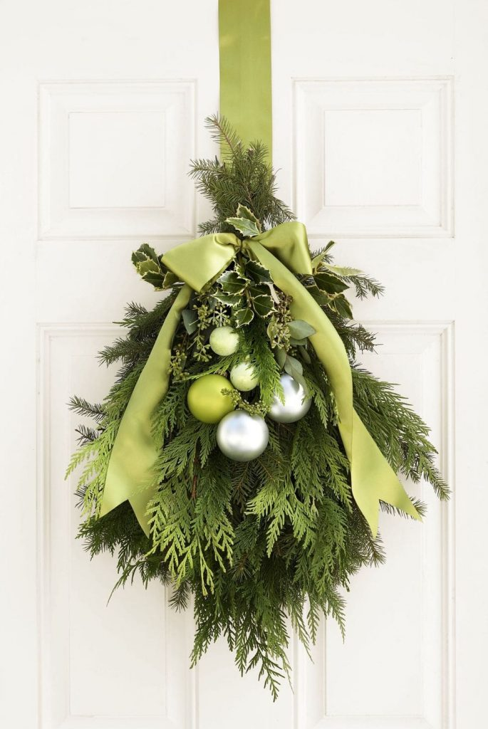 green-door wreath