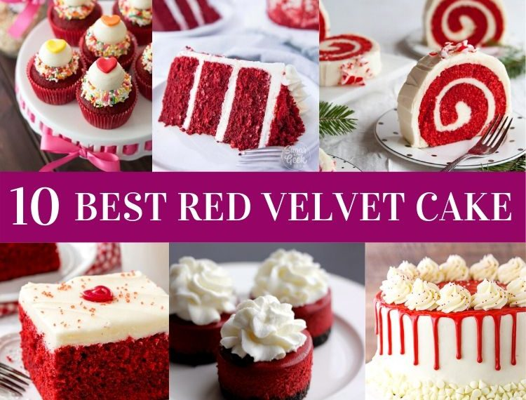 10 Red Velvet Cake Recipes