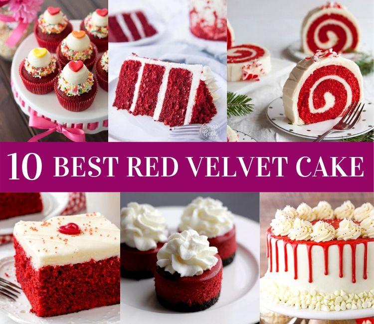 10 Red Velvet Cake Recipes