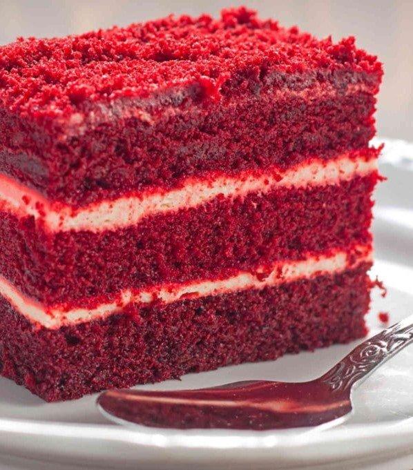 southern style Red velvet cake