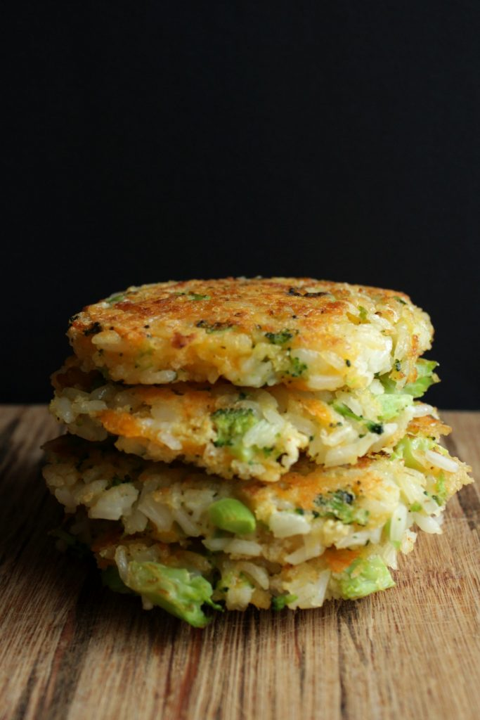 broccoli-cheddar-rice-patties