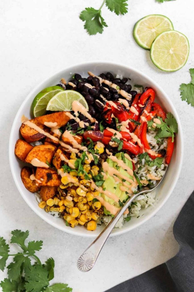 vegan-burrito-bowl