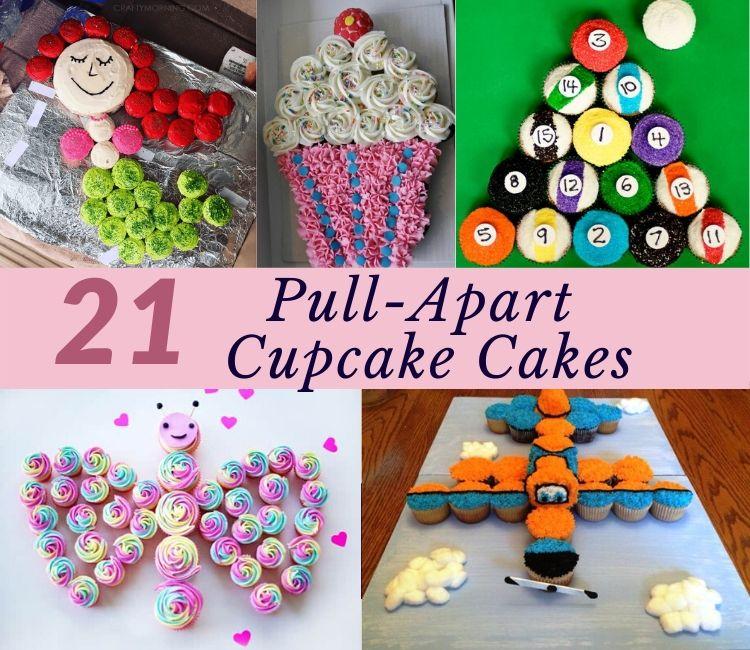 1 Pull apart cupcake cake