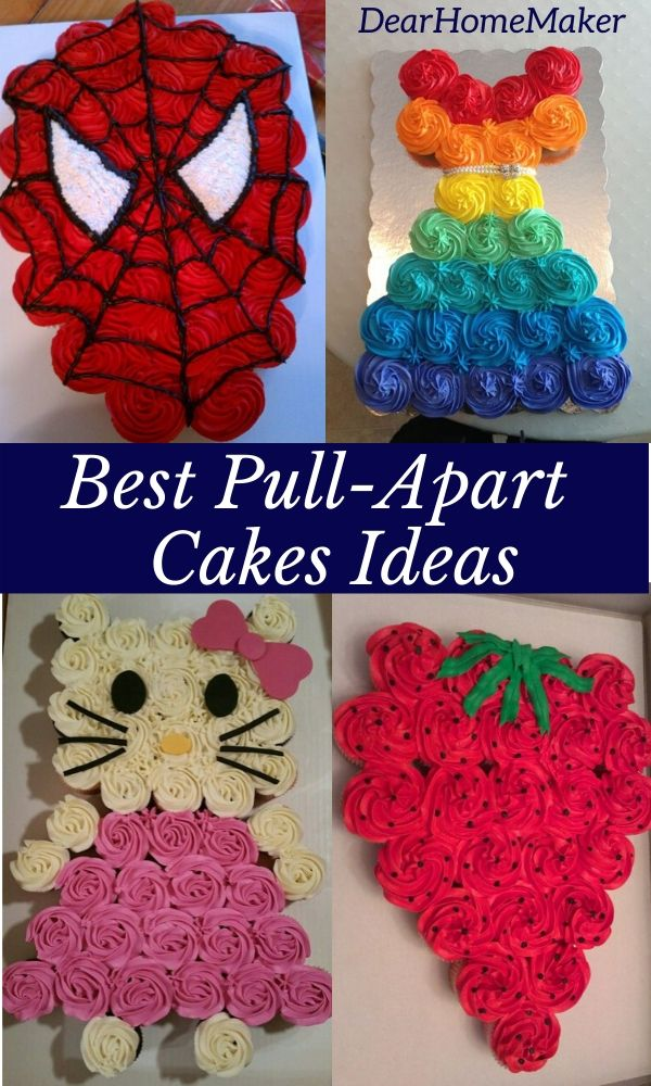21 Best Pull-apart Cupcake Cake Ideas