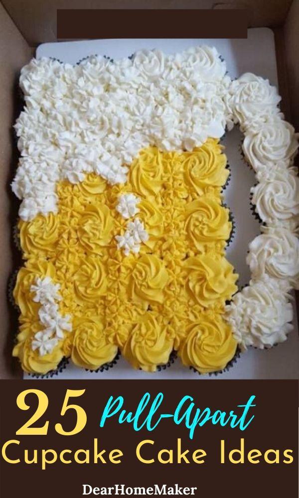 25 Cupcake cake Ideas
