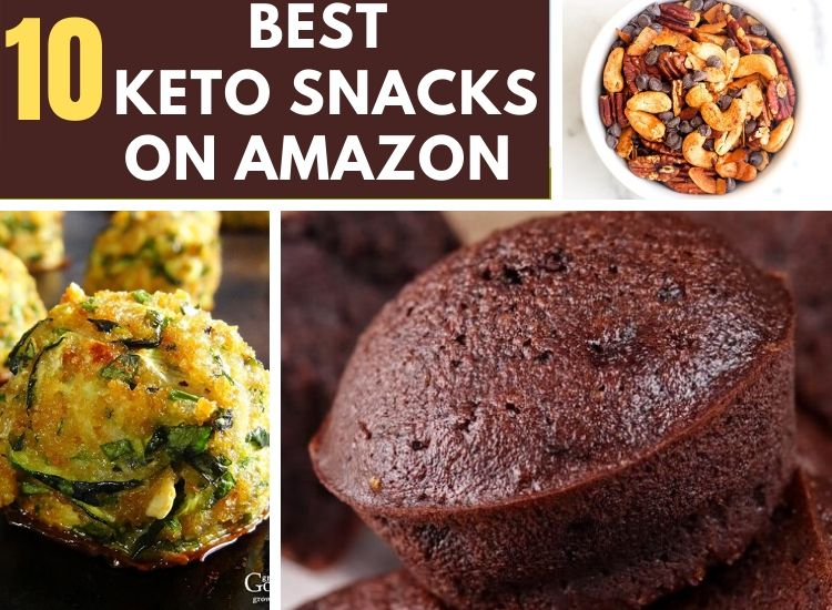 10 keto snacks from Amazon