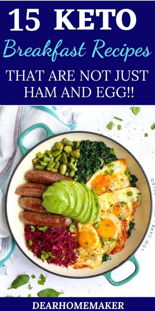 15 Keto breakfast recipes for weight loss