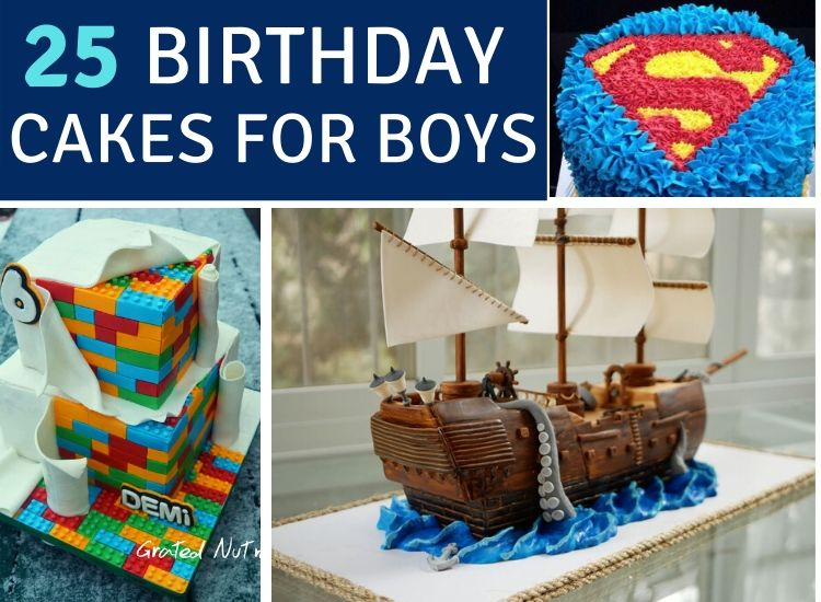 25 bEST bIRTHDAY CAKES FOR BOYS.