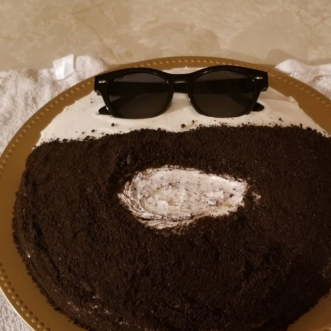 Cool father's day cake