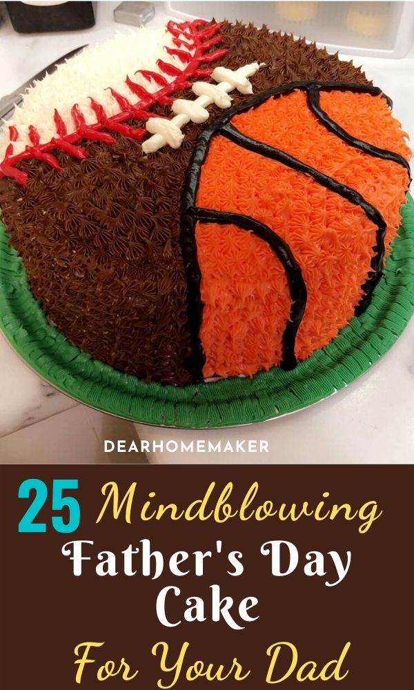 Fathers Day cake Ideas for dad