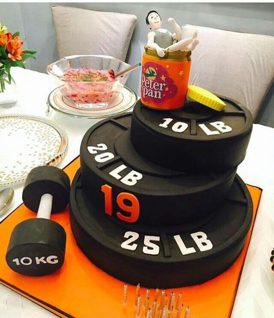 Fitbess Fathers day cake