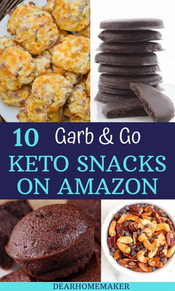 10 Garb & Go keto snacks on Amazon