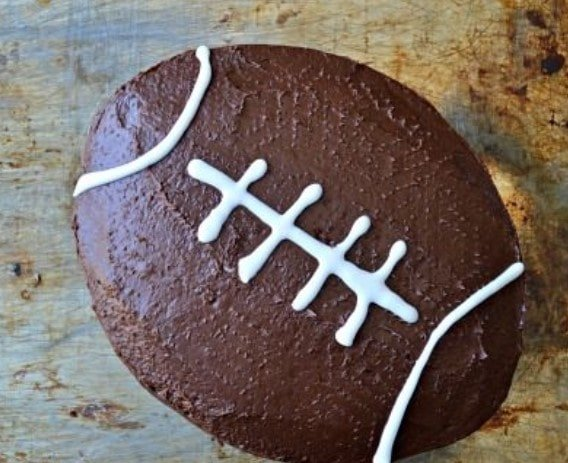 Football Cake for fathers day