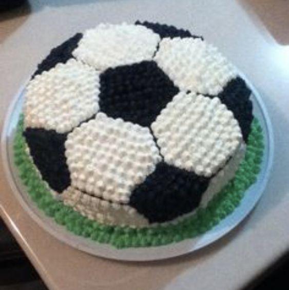Soccer Cake #soccercake #cake #birthdaycakesforboys #birthday
