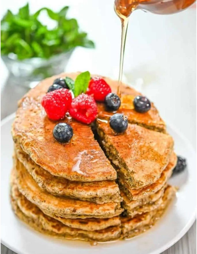 healthy pancake breakfast recipe