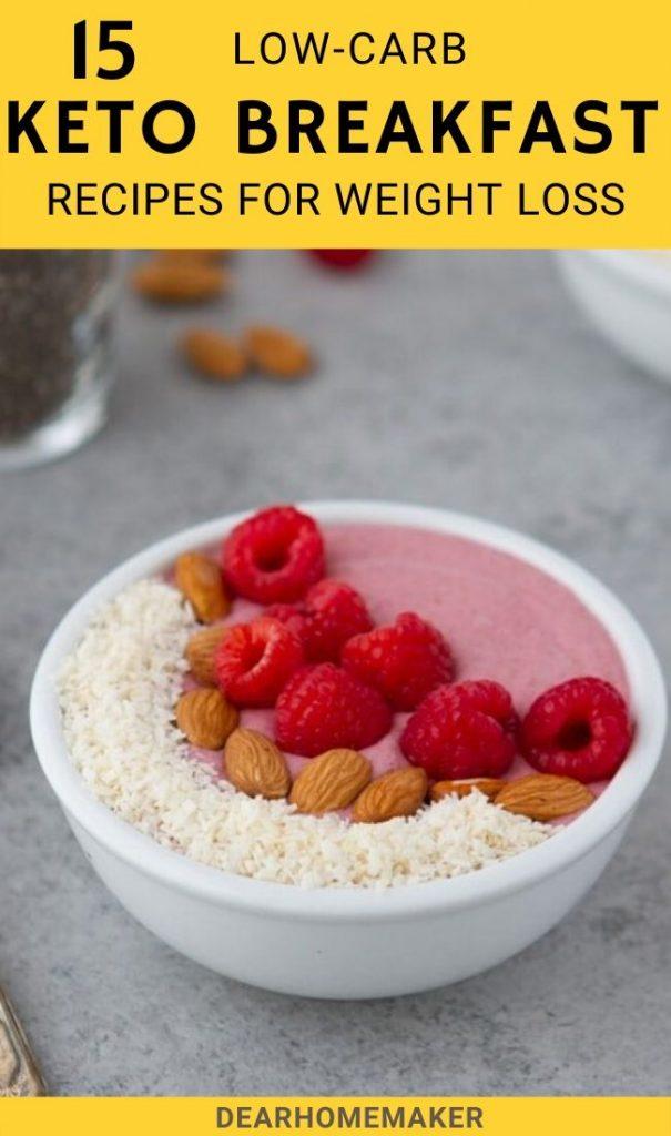 15 Simple and healthy KETO Breakfast Ideas