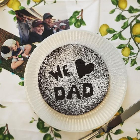 love dad cake
