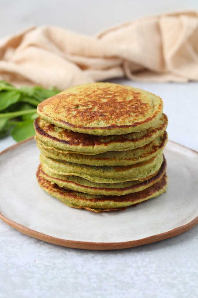 spinach banana pancake