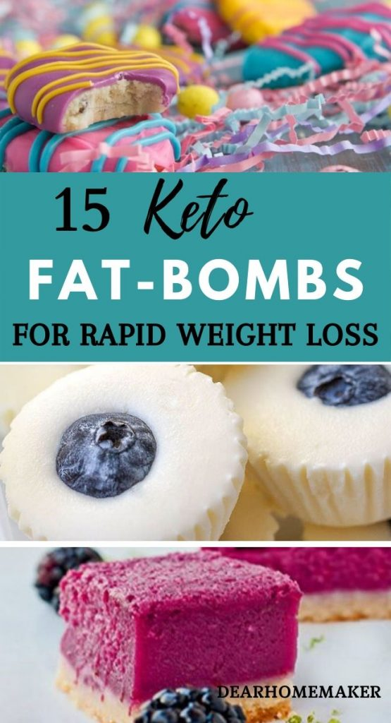 15 Keto Fatbombs for weight loss