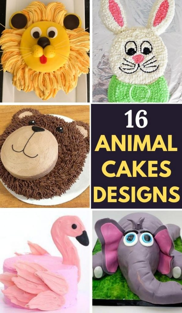 16 Best Animal Birthday Cakes