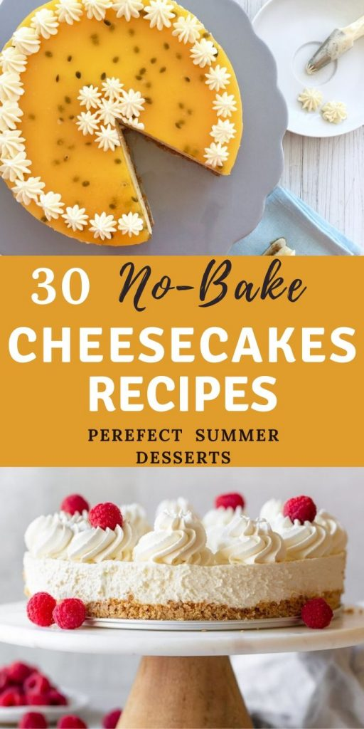 30 Best No-Bake Cheesecake Recipes