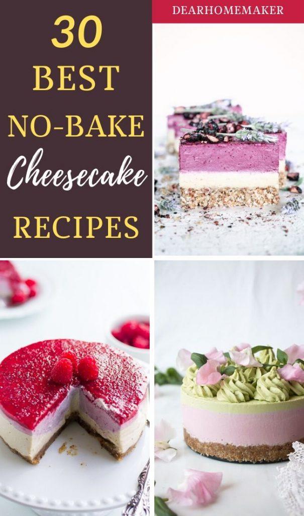 30 nobake cheesecake recipes