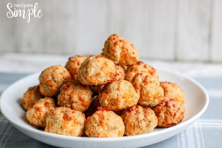 Keto Cream Cheese Sausage Balls