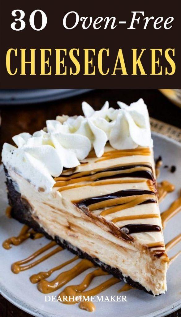 30 No-Bake Cheesecakes